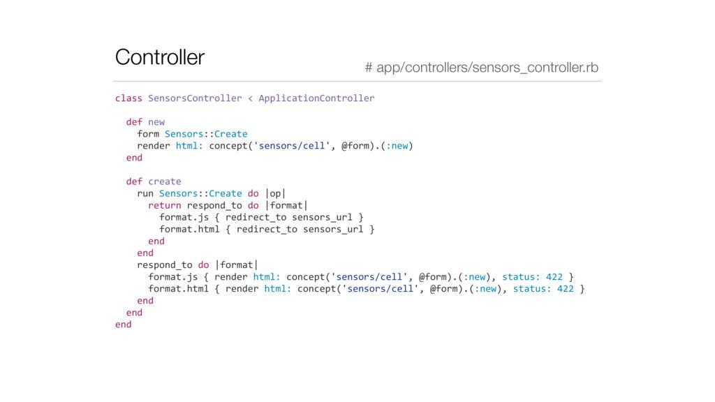 Controller class SensorsController < A...