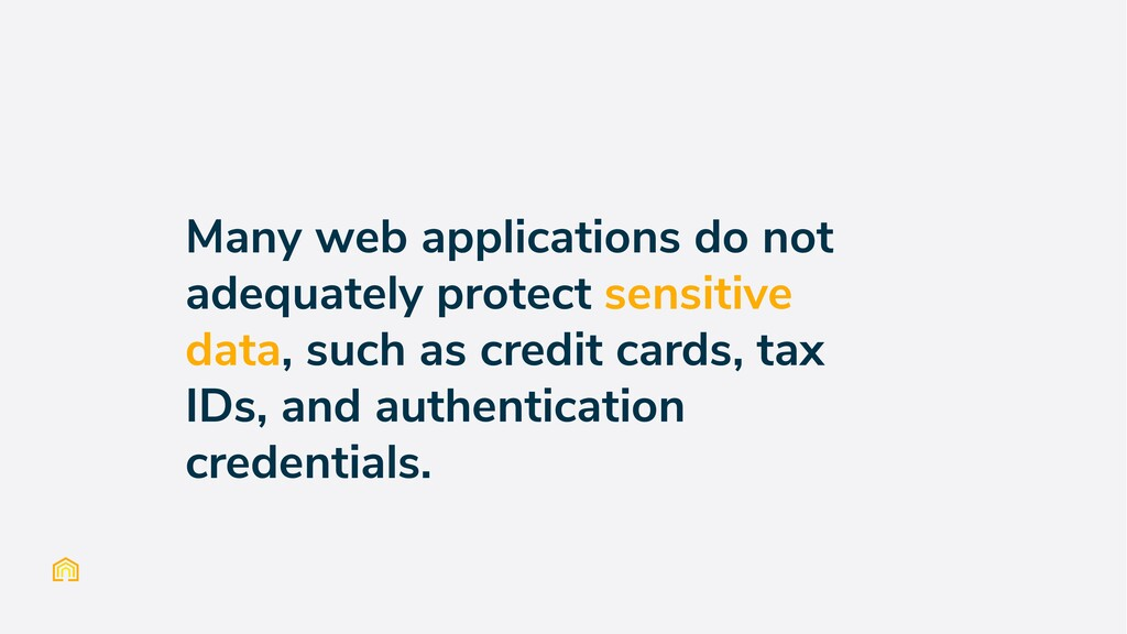 Many web applications do not adequately protect...