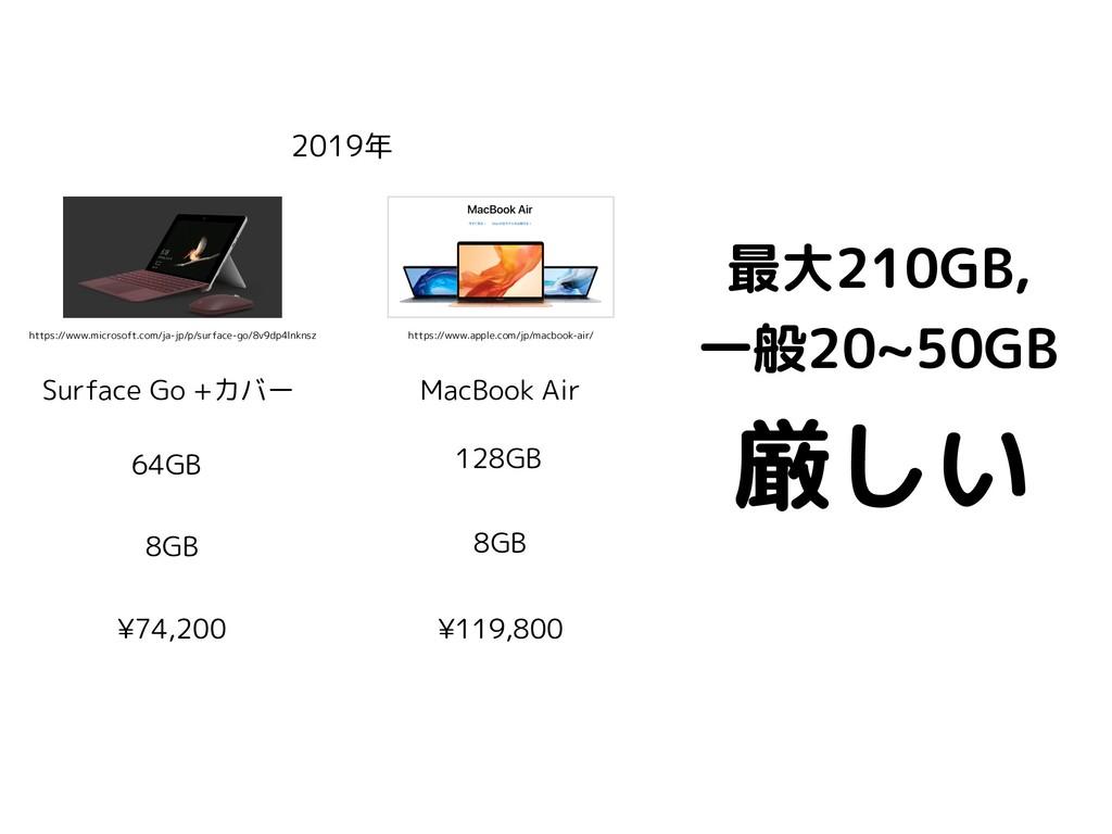 厳しい 2019年 MacBook Air 64GB 8GB 128GB 8GB ¥119,8...