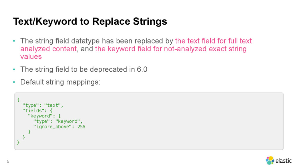 Text/Keyword to Replace Strings • The string fi...