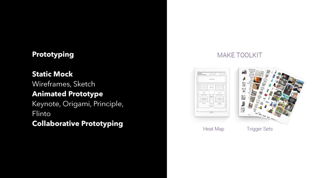Prototyping Static Mock Wireframes, Sketch Anim...