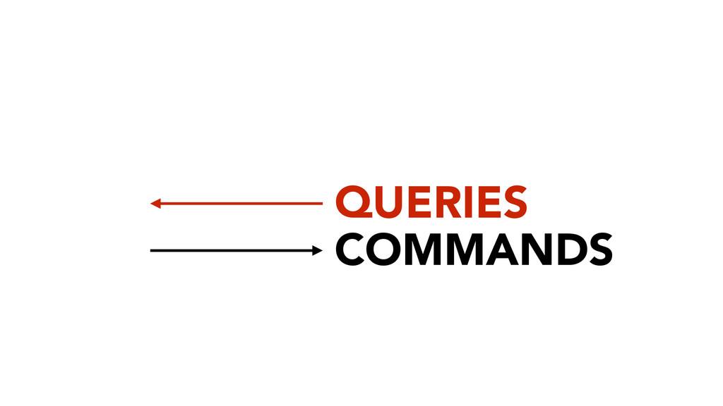 COMMANDS QUERIES