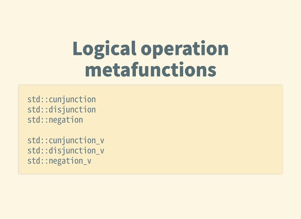 Logicaloperation Logicaloperation metafunctio...