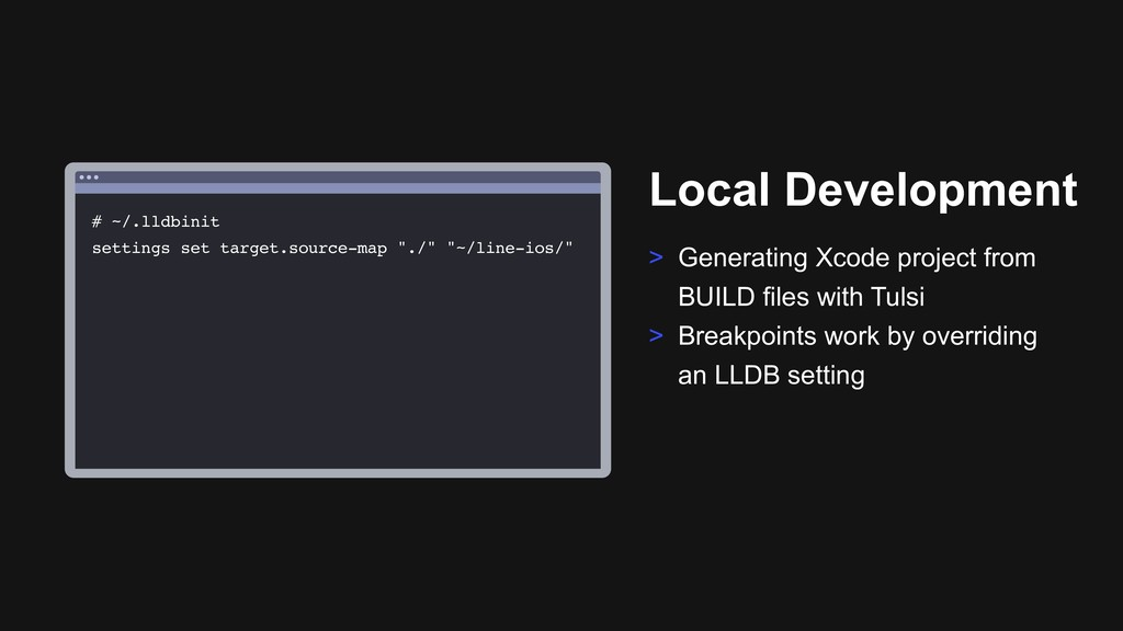 Ƃ Local Development > Generating Xcode project ...