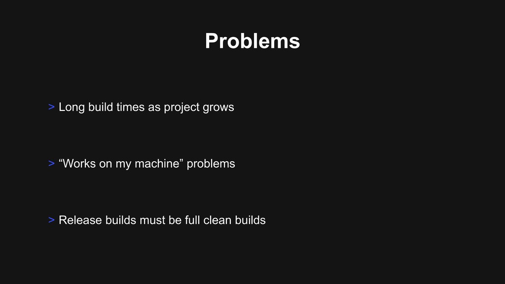 "Problems > ""Works on my machine"" problems > Rel..."