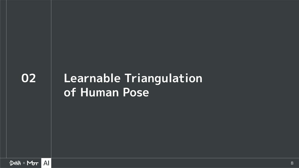 8 02 Learnable Triangulation of Human Pose