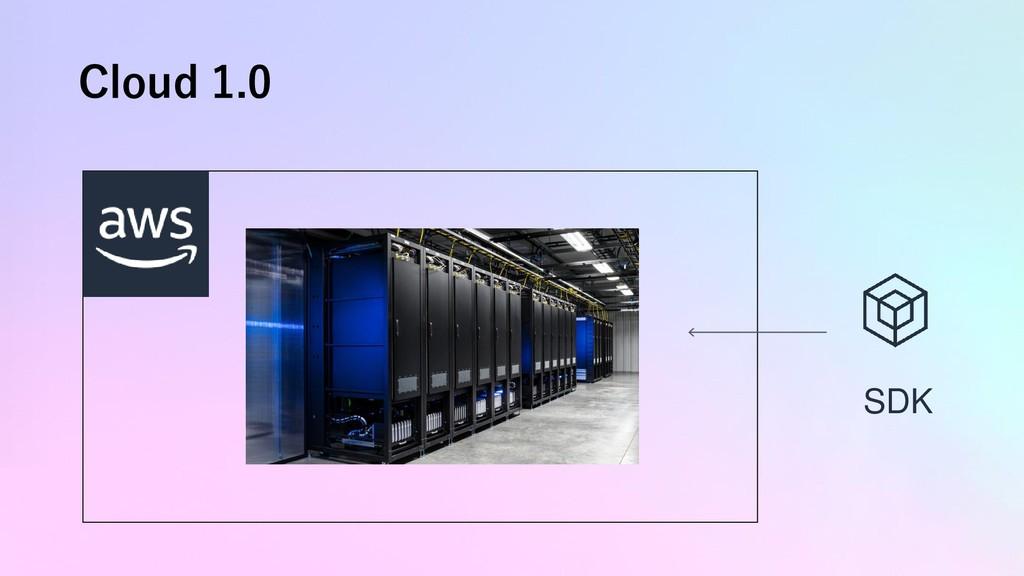 Cloud 1.0 AWS Cloud SDK