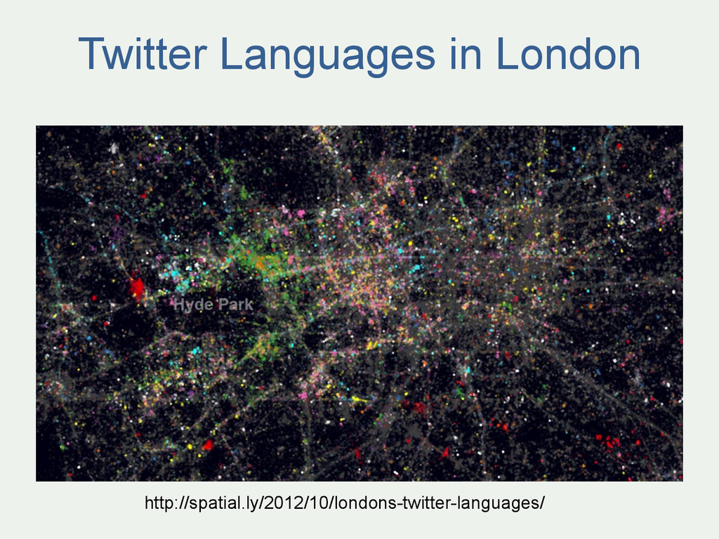 Twitter Languages in London http://spatial.ly/2...