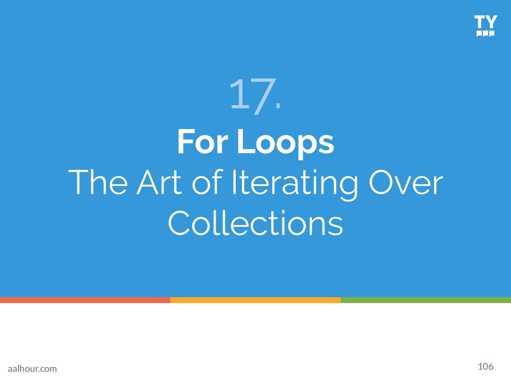 17. For Loops The Art of Iterating Over Collect...