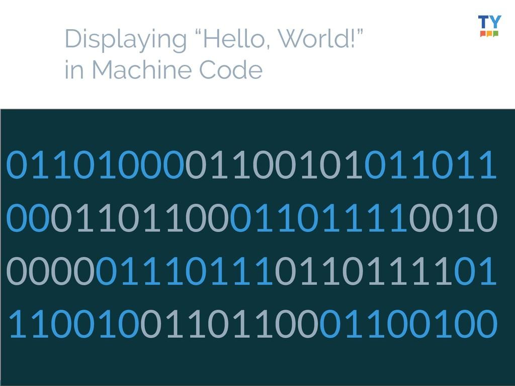 """23 Displaying """"Hello, World!"""" in Machine Code 0..."""