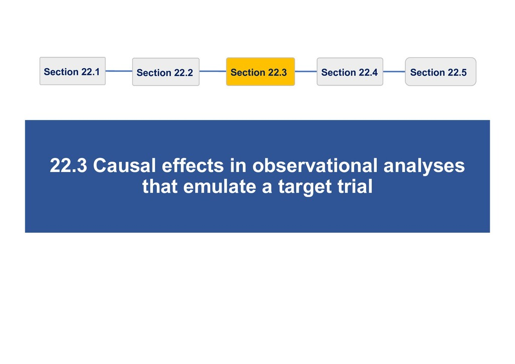 22.3 Causal effects in observational analyses t...