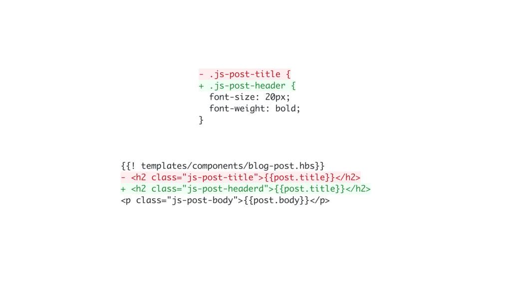 - .js-post-title { + .js-post-header { font-siz...