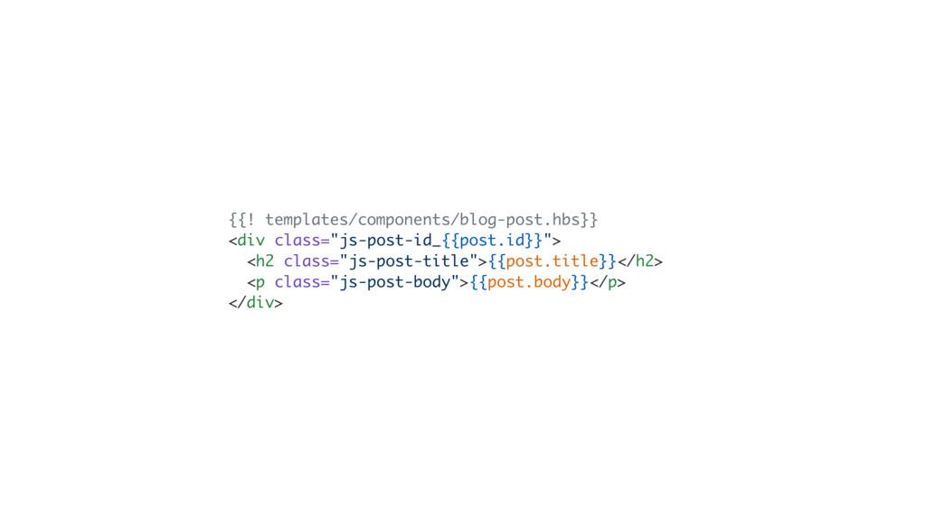 {{! templates/components/blog-post.hbs}} <div c...