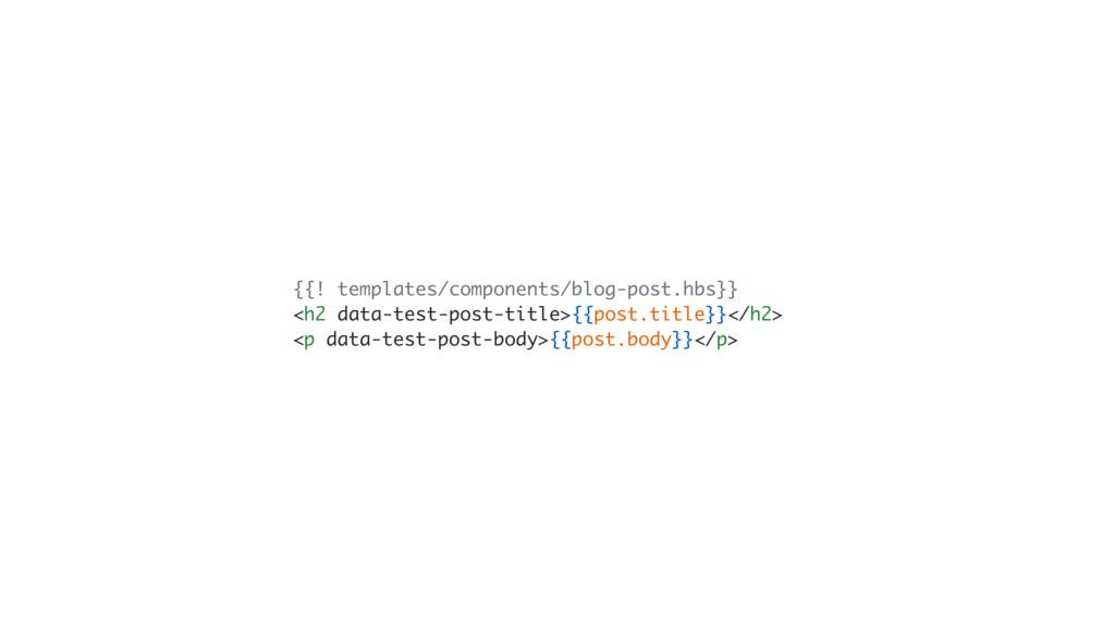 {{! templates/components/blog-post.hbs}} <h2 da...
