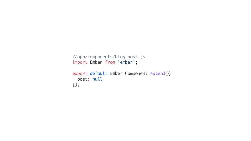 //app/components/blog-post.js import Ember from...