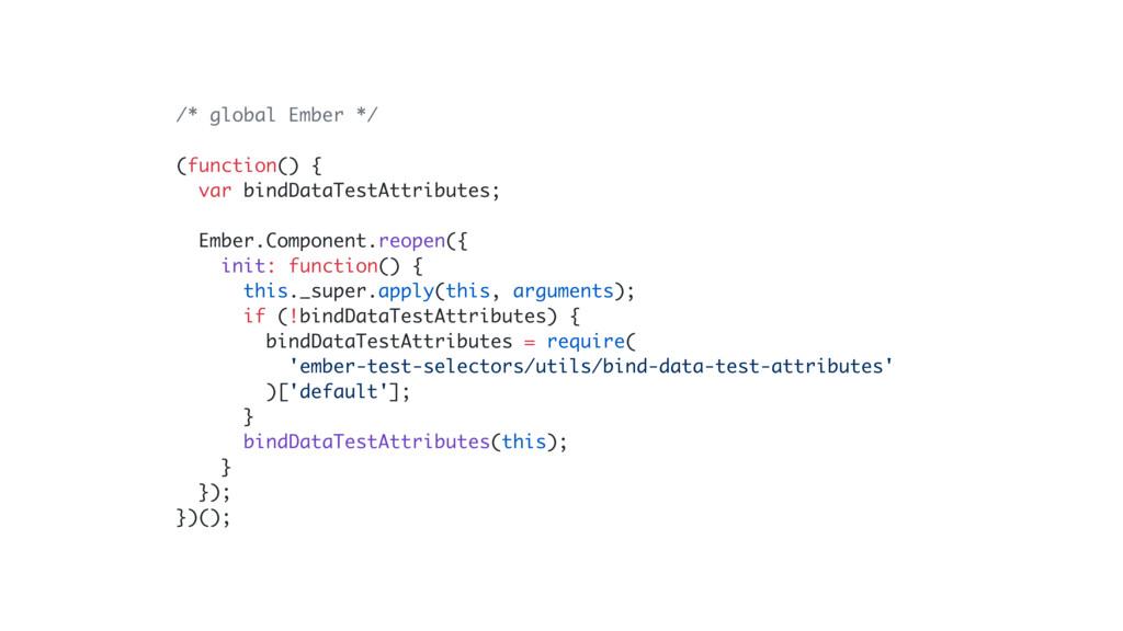 /* global Ember */ (function() { var bindDataTe...