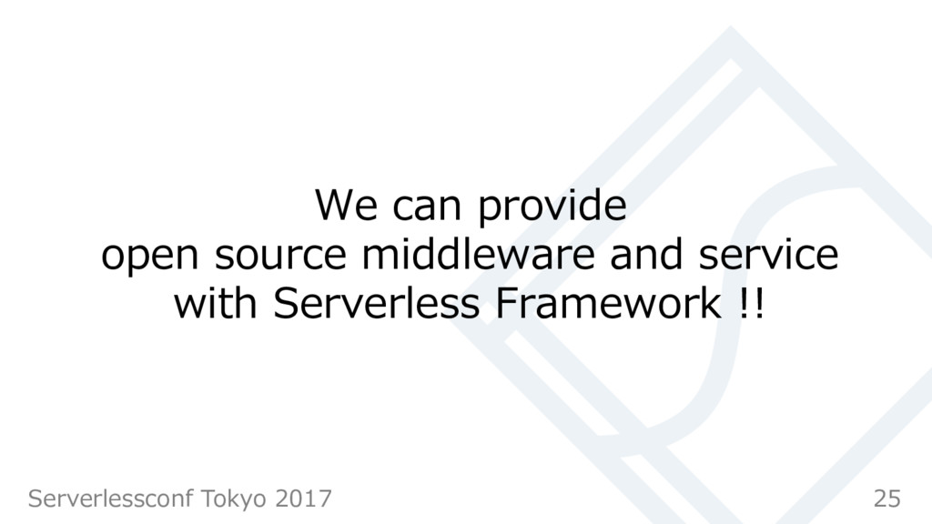 We can provide open source middleware and servi...