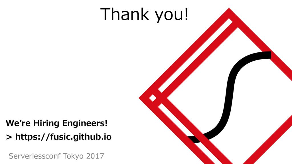 41 We're Hiring Engineers! > https://fusic.gith...
