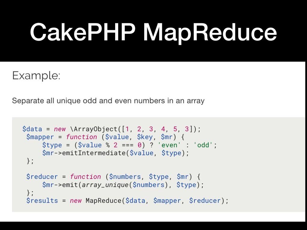 @DerekB_WI CakePHP MapReduce
