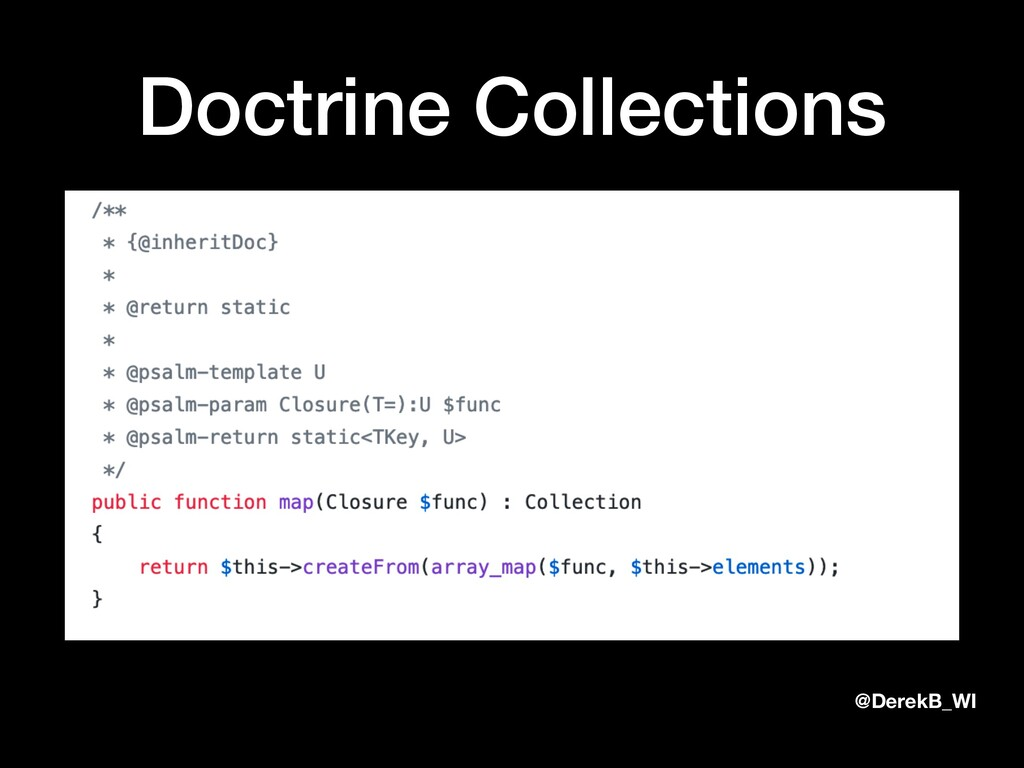 @DerekB_WI Doctrine Collections