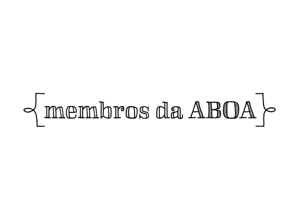 amembros da ABOAb