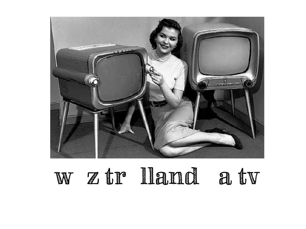 woz trollando a tv