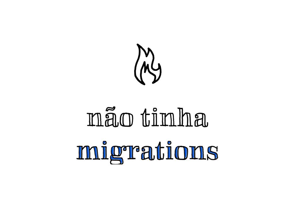 não tinha migrations migrations ¬.