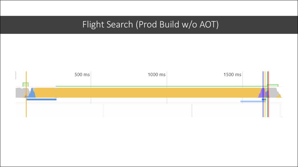 Flight Search (Prod Build w/o AOT)
