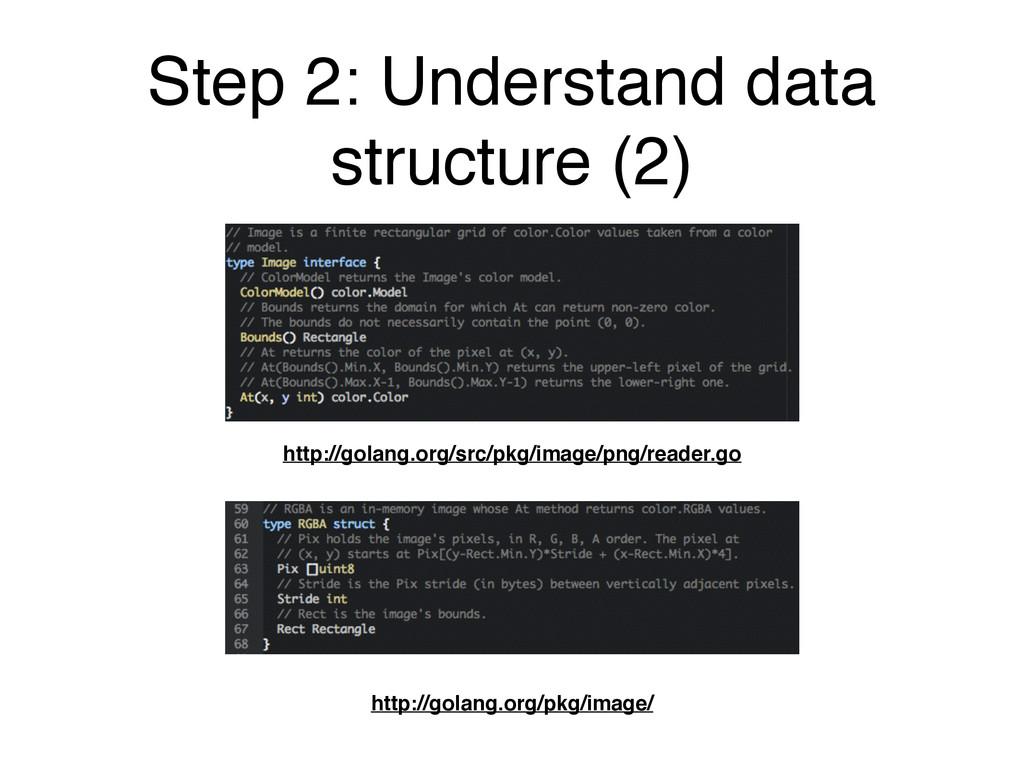 Step 2: Understand data structure (2) http://go...