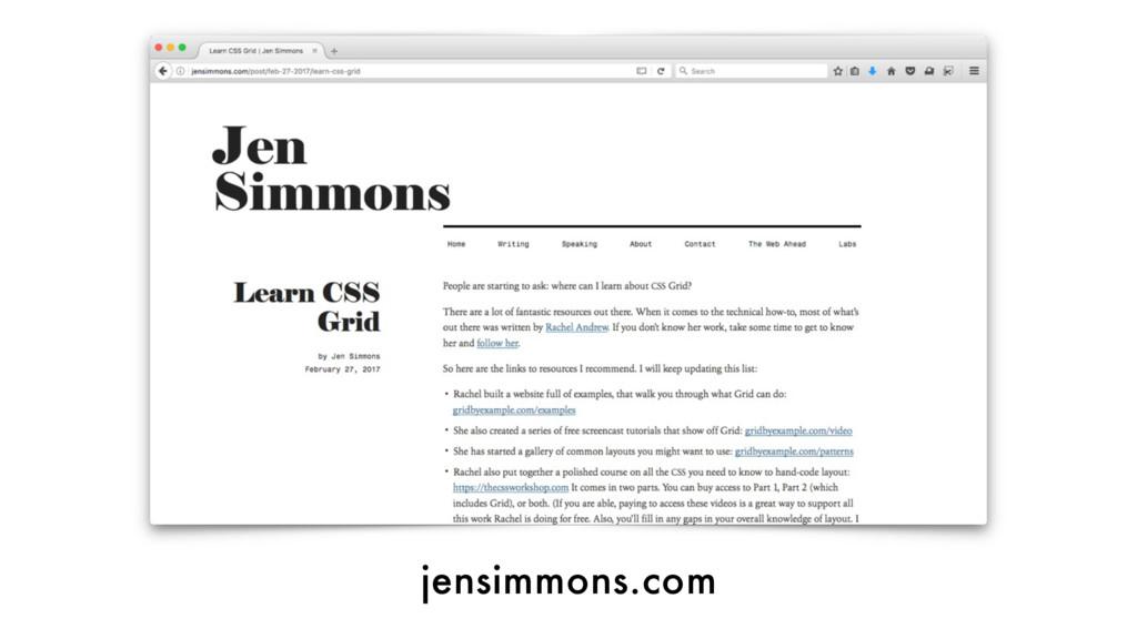 jensimmons.com