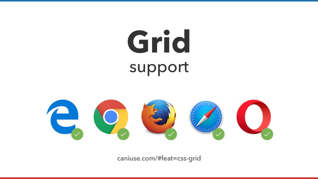 Grid support caniuse.com/#feat=css-grid