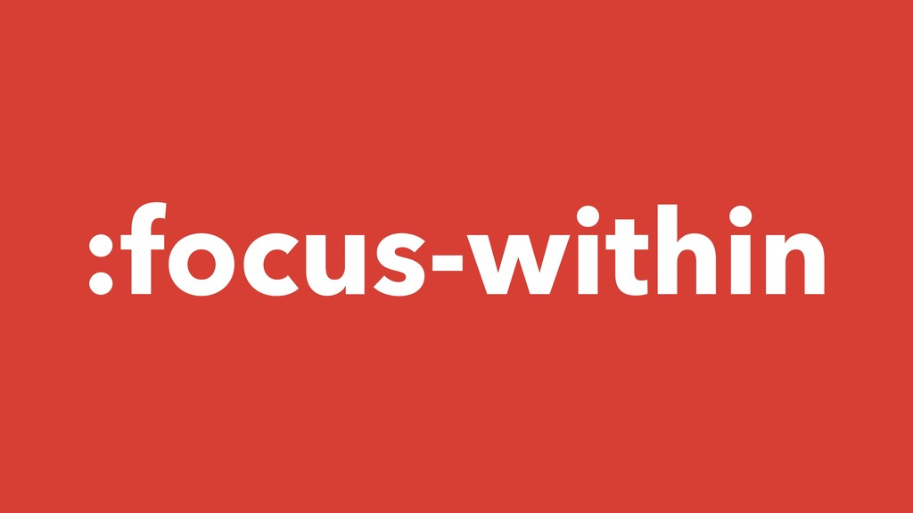 :focus-within