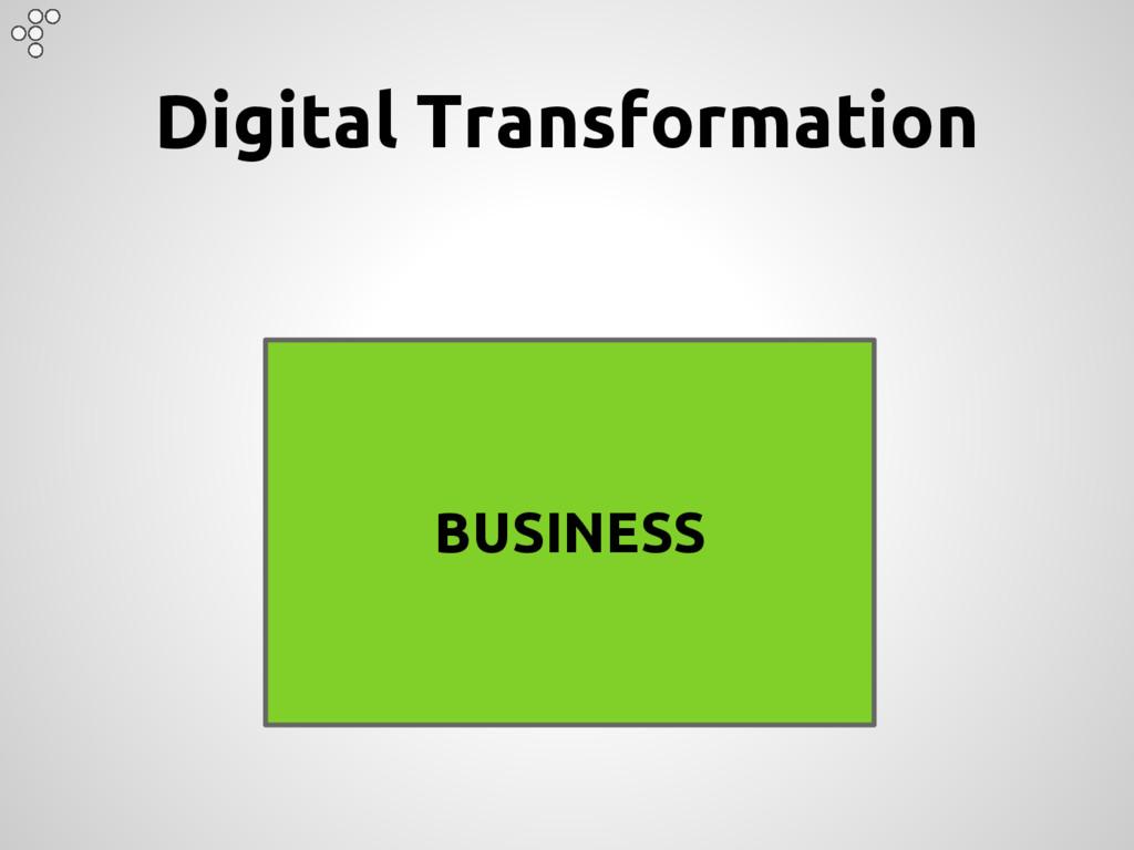 BUSINESS Digital Transformation