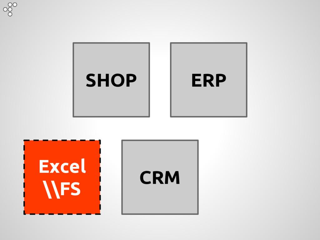 SHOP ERP CRM Excel \\FS