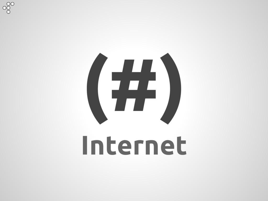 (#) Internet
