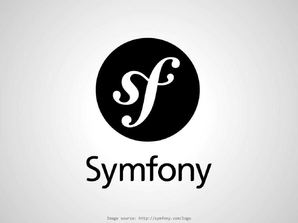 Image source: http://symfony.com/logo