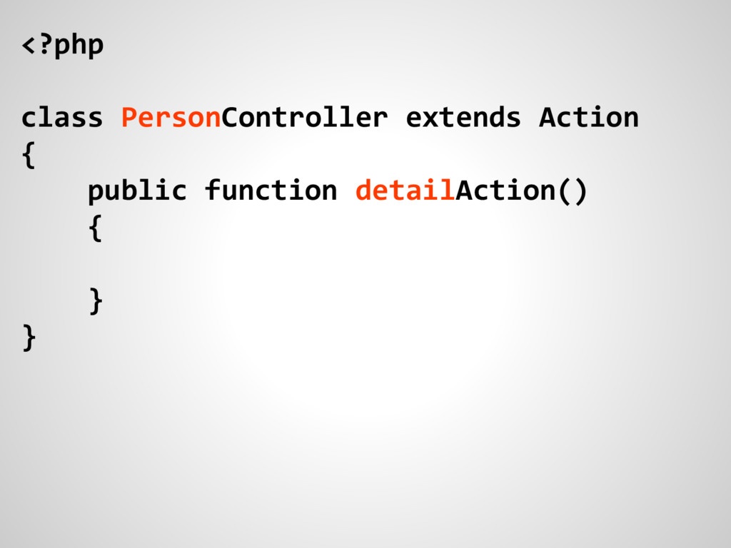 <?php class PersonController extends Action { p...