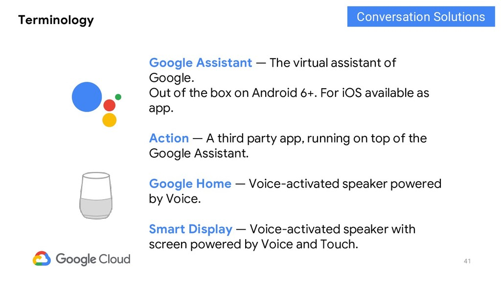 41 Terminology Google Assistant — The virtual a...