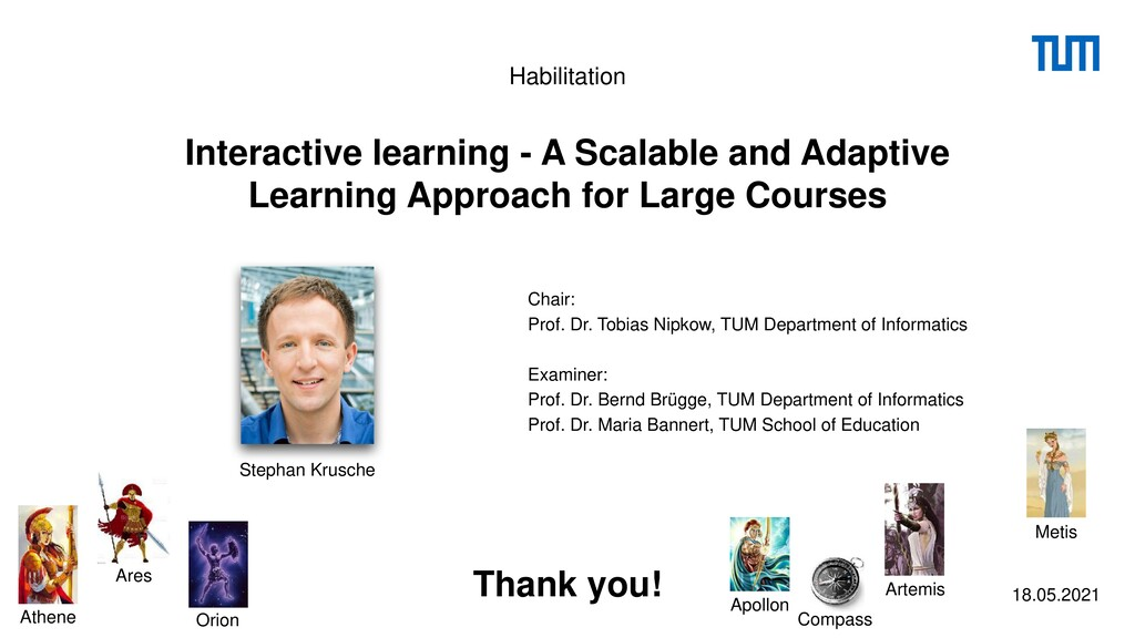 Interactive learning - A Scalable and Adaptive ...