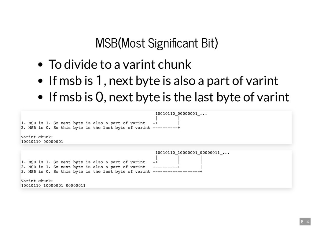 MSB(Most Signi cant Bit) MSB(Most Signi cant Bi...
