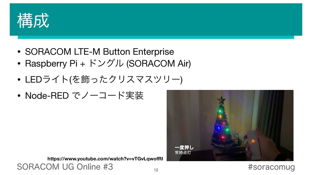 12 • SORACOM LTE-M Button Enterprise  • Raspber...