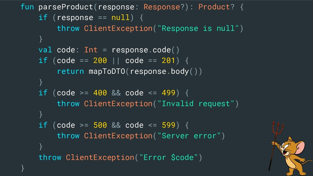 fun parseProduct(response: Response?): Product?...