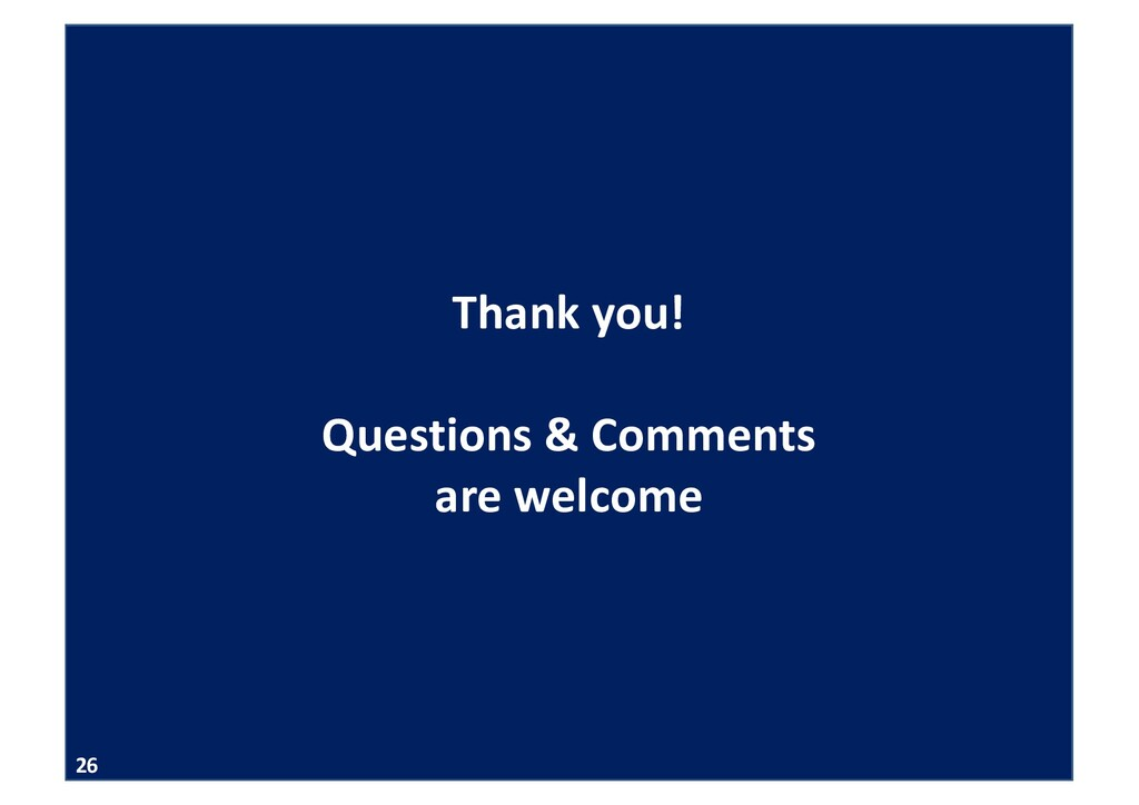 APMS 2020 Thank you! Questions & Comments are w...