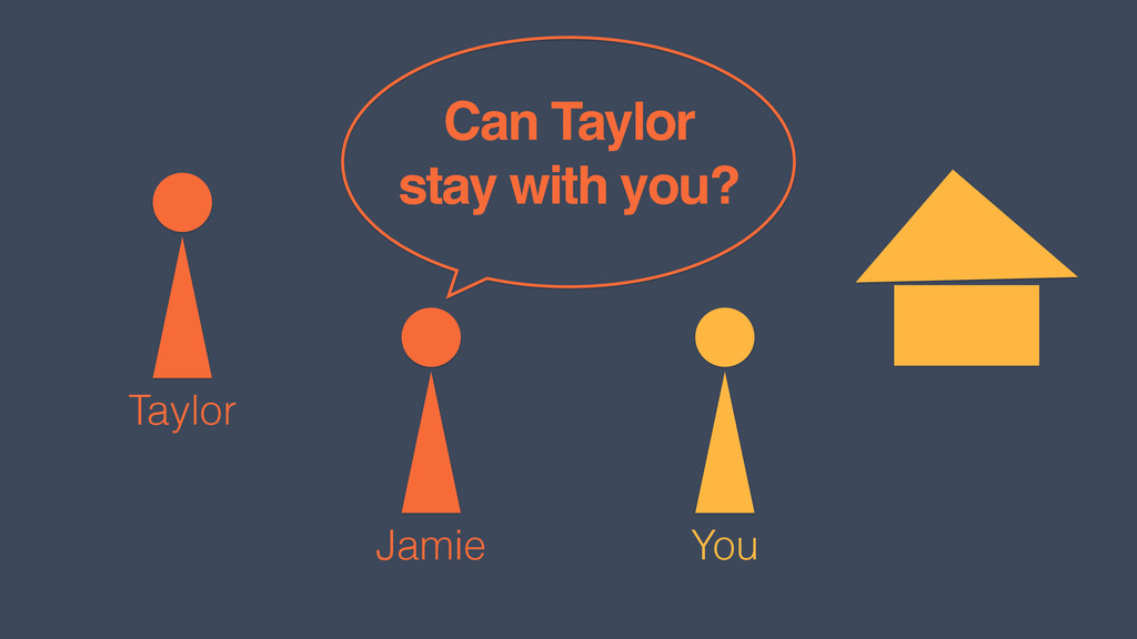 You Jamie Taylor Can Taylor stay with you?