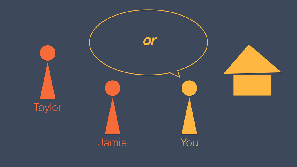 You Jamie or Taylor