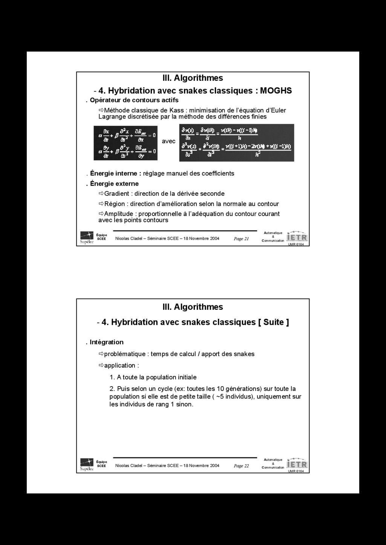 Page 21 Nicolas Cladel – Séminaire SCEE – 18 No...