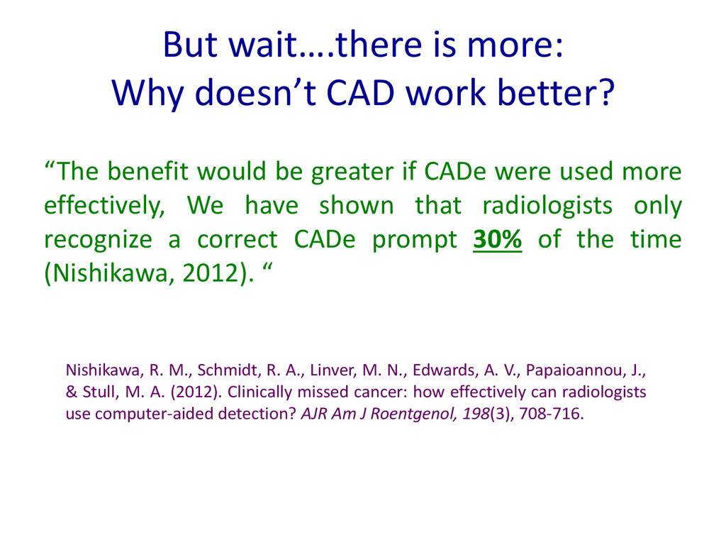But wait….there is more: Why doesn't CAD work b...