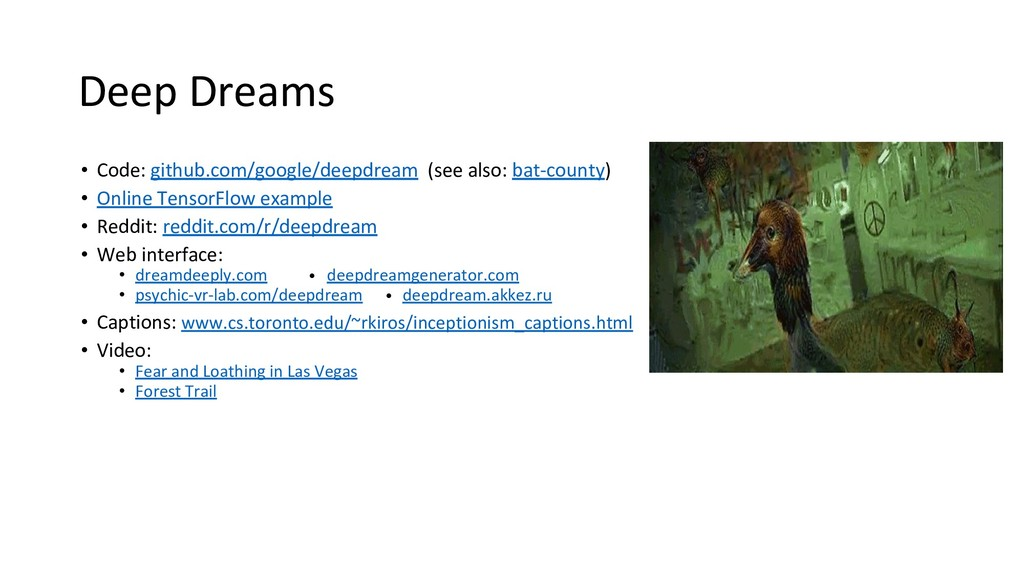 Deep Dreams • Code: github.com/google/deepdream...