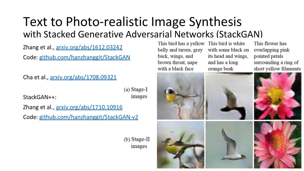 Text to Photo-realistic Image Synthesis with St...