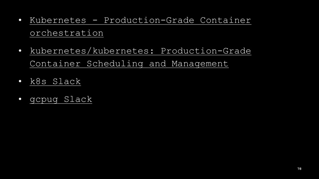 • Kubernetes - Production-Grade Container orche...